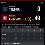 Let us remember what happened last time the ironbowl was in Tuscaloosa #tbt http://t.co/KCbrszq9oG