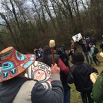 MT @BenWest: So inspired by leadership of Coast Salish #FirstNations on #BurnabyMountain http://t.co/iaHUGGmjBU #cdnpoli #tarsands #bcpoli
