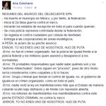 En la opinión de.... Ana Colchero @nacemosmuertos #PorUnMéxicoEnPaz Unidad y Desarrollo Paz con Justicia #YaMeCanse http://t.co/jTOGSI2KbO