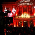 Meanwhile over in Queen Victoria Square the Christmas lights are ON! @Hullccnews http://t.co/83hEw5yvrg