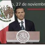 """¿Qué maquillaje les gusta más? """"#EPN viene a anunciar reformas"""" o """"#EPN habla con familiares de normalistas"""". http://t.co/28lKzCK1Wm"""
