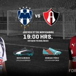 Duelo de Poder y Velocidad. RT @Rayados Fav @atlasfc #ForeverFaster http://t.co/MZ7oMvV3a3