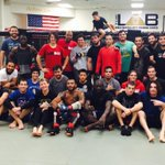 """Very thankful for all the guys coming in on this holiday and helping us get ready for @ufc Phoenix! http://t.co/TeQtSJ8lvY"""""""