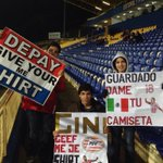 Nog een half uur tot de aftrap! Deze jonge Portugese fans zijn er klaar voor. #psv #estpsv http://t.co/9nFtiyxant