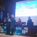 Luis Sánchez, DG madri+d y Martha Grey @MIT recogen galardón Fund Tecnología y Salud @fenin_es x proy @madridmvision http://t.co/lQy0YV3Se5