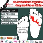 Madres de migrantes centroamericanos exigen detener plan Frontera Sur http://t.co/2s49WaGQDw #YaMeCanse #Oaxaca http://t.co/WUjuEmNFo1