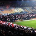 Feyenoord fans with one of the very best tifos I've ever seen. Fabulously obscure maritime 17th century reference. http://t.co/1ZFniToTmK