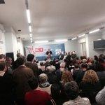 Abarrotada a sede do @PSdeG_Ourense no acto d Pachi Vázquez, candidato ás primarias da nosa cidade. #ConPachiGanamos http://t.co/wWaIyRNwbn