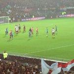 Wat ben ik trots op die gasten #Feyenoord BEDANKT ! #feysev #overwinteren http://t.co/xs7NmpGI4D