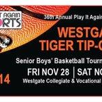 The Play It Again Sports Tiger Tip-Off Varsity Boys' Basketball Tournament tips off Friday! #LPStb #tbay @WestgateHS http://t.co/pKdtZ7JREe