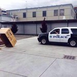 Protesters have been setting donut traps for police. Awesome. #MikeBrown #Ferguson http://t.co/cXYJ4yJwJt