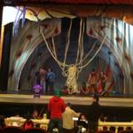 """Se alista el montaje de la ópera """"LA MUERTE PIES LIGEROS"""" en el #FestivalEduardoMata @GabinoCue #Oaxaca @GobOax http://t.co/uhmZns92wH"""