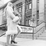 Todays #TBT is from Amnesty Week at the #HamOnt Central Library in 1973. Books could be returned without fines! http://t.co/VQzXXKb9NP