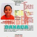 #AlertaAmber #Oaxaca para la localizacion de Diana Marely Pucheta de 8 años, desaparecida el 26 de noviembre http://t.co/zZTPBTRuBh