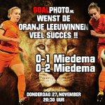 0-2 voor Nederland! Vivianne Miedema #itaned #OranjeLeeuwinnen http://t.co/OUkt8YsLMl