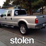 Truck stolen on weekend in #Steveston #Richmond 2005 Ford F350 plates HL 3350 #Surrey #Vancouver Anyone seen it? http://t.co/IxOZryYHy5