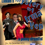#NorthantsHour Playhouse Theatre presents The Mystery Of Irma Vep - A Penny Dreadful 2-6 Dec http://t.co/a8YrkO7Ztr http://t.co/117PkWYmwo