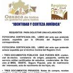 Tu acta tiene un error y deseas corregirlo? acude a la unidad jurídica en García Vigil No 602 #Oaxaca @GabinoCue http://t.co/0jrGIJ9dxL