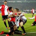 Team spirit: @Feyenoord celebrate scoring a goal in their 2-0 win against @SevillaFC. #UEL http://t.co/Nru7t5pnng