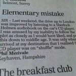 Daily Telegraph letter of the year! http://t.co/cWfWQwera7