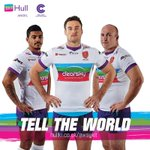 Here it is, inspired by @2017Hull. Our brand new 2015 away kit... #telltheworld http://t.co/N6oN4mzeOo