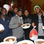 VIDEO Even in a short week, our linebackers found time to give. #Thanksgiving [http://t.co/0a6CbCRExp] http://t.co/OGeti8QFST