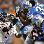 Lions beat Bears, 34-17. Detroit wins consecutive Thanksgiving games for 1st time since 4 straight wins 1997-2000. http://t.co/6WJ46qgkv1