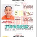 #AlertaAmber para localizar a DIANA MARELY PUCHETA GONZÁLEZ, se extravió el 26 de noviembre El Rosario #Oaxaca http://t.co/UJ9eau8HLG