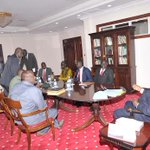 We discussed the situation in South Sudan, and how to restore peace and stability amicably. http://t.co/iz37HutteY