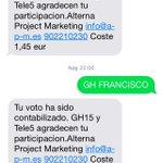 VOTITO PARA FRANCISCO Fran 279 RT / Yoli 97 FAV https://t.co/DHNjXYYTsv #Gala13GH15 http://t.co/XHsYUavBSN