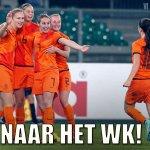 De #OranjeLeeuwinnen verslaan Italië met 2-1 en plaatsen zich voor het WK 2015 in Canada! http://t.co/6AiOqQO2ra