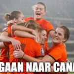 JA!!! De Oranje-vrouwen winnen met 1-2 van Italië en plaatsen zich voor het eerst voor een WK!!! http://t.co/DMaGd8mBrn