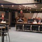 Ties Stam presenteert de motie op het sociaal vangnet als de nood het hoogst is. @PvdA_Apeldoorn @raadapeldoorn http://t.co/cYe7tFnzCD
