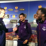 Rom and Kev spoke to @evertontv after the match. Look out for the video tomorrow #WOLvEFC http://t.co/6UTA1v3Zz3