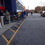 The line keeps getting longer over at the #Greensboro Best Buy! @WFMY http://t.co/1qrOvVHAUi