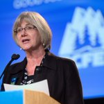 The new President of the BC Federation of Labour is Irene Lanzinger. #bcfed14 #bcpoli http://t.co/g7bPiVvk9K