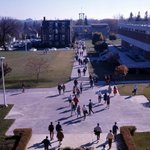 #ThrowbackThursday #TBT Waterloo Lutheran University, circa 1965. Willison Hall and Waterloo Lutheran Seminary. http://t.co/I03DUnoPnb