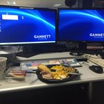 Thanksgiving food catered to @12News http://t.co/j7vespQuLM