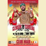 Clemson/Carolina official after party at club MAUI !! We got @djblord w us on this one so yu kno its gone jump ! ???????? http://t.co/eDiffwmevs
