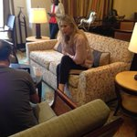 Thank you, @MariaSharapova for the interview. We asked 2 questions tweeted by our followers. Watch for the story. http://t.co/zXlXwYDMqH