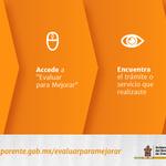 """Sociedad y @GobOax podemos evaluar y mejorar trámites y servicios con """"Evaluar para Mejorar"""" http://t.co/bes1vlCIdH http://t.co/uNIYSq8aTl"""