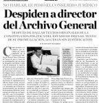 ¿Qué pretenden esconder el @GobOax y Sría. Admón. despidiendo al Director del Archivo Gral? #Oaxaca @JusticieroCland http://t.co/IzOXpGvojV