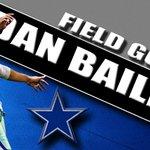 Dan Baileys FG is GOOD. Cowboys 10, Eagles 23 #PHIvsDAL http://t.co/l1o8u4hqzw