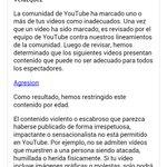 Youtube censuró mi video de la agresión policiaca http://t.co/qZdgZpOYwy