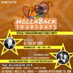 TONIGHT #Seattle #Nightlife #Dancing #Throwback #Thanksgiving #HOLLA Doors @ 9pm - open til 3am http://t.co/G2IusCIGNu