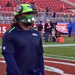 #Seahawks @MoneyLynch getting ready for #Thanksgiving #SNF as its #SEAvSF on @KING5Sports http://t.co/q5BVQPJt44
