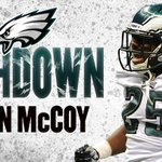 Move like #TheRealMcCoy ... right into the end zone!  TOUCHDOWN. #FlyEaglesFly http://t.co/YcfGOBg71N