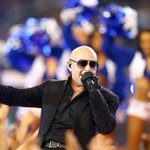 Pitbull dances with Cowboys cheerleaders at halftime -- See the pics here: http://t.co/x1jTC2B5Q1 http://t.co/RZGTbwqCN0