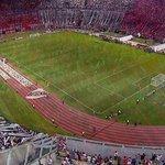 Más de 60.000 hinchas, llenaron el Monumental para recibir a River Plate. #CopaSudamericana http://t.co/pVGlgs4GbH