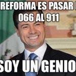 La reforma de Peña Nieto #EmergenciasMexicanas911 http://t.co/D8VJBZiHYK